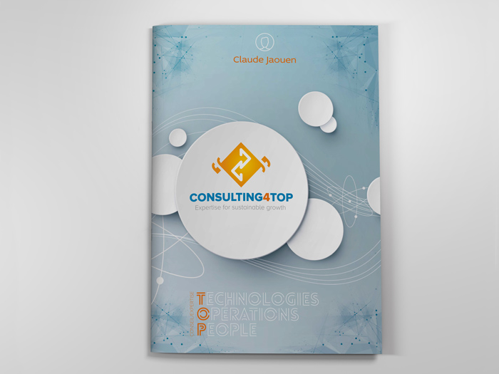 plaquette A4 Consulting for TOP