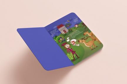 Illustration d'un livre pour enfant