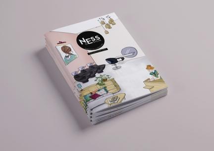 Catalogue produit de mobilier de coiffure